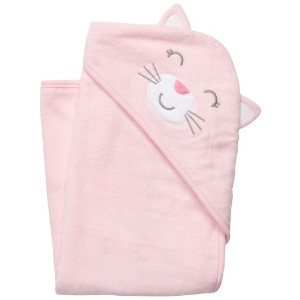 Carter's Hoodie Towel - Pink Kitten by Carter's