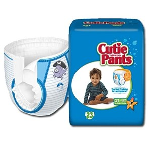 Cuties? Training Pants for Boys - Case/92 (3T - 4T - Boys (32 - 40 lbs.)) by Cuties