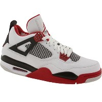 (ナイキ) Nike メンズ 308497-110 AIR JORDAN 4 RETRO FIRE RED - 27CM (US 9.0)