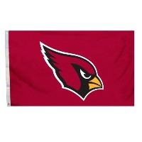 NFL Arizona Cardinals Flag with Grommetts、3x 5フィート