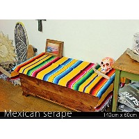 RUG&PIECE Mexican Serape made in mexcico ネイティブ メキシカン サラペ メキシコ製(rug-5941)