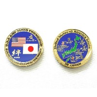 自衛隊グッズ 米軍challengecoin United States of America Bases in Japan
