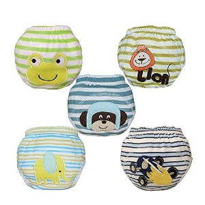 Babyfriend Lovely Baby Boys' Washable Toilet Training Pants Nappy Underwear Cloth Diaper TP5-010 by...