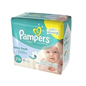 PAMPERS BABY WIPES REFL FRESH 216 by Pampers