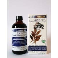 Orgnic Elderberry Syrup by Maine Medicinals