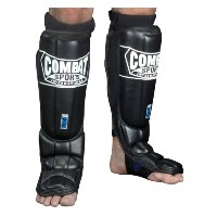 Combat Sportsジェルshock8482 ; Pro Style Grappling Shin Guards