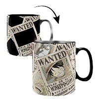 One Piece Thermo Effect Mug Wanted