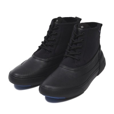 【SPERRY TOPSIDER】 スペリートップサイダー CUTWATER DECK BOOT カットウォーター デッキ ブーツ STS15945 BLACK