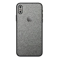 wraplus for iPhoneX [ガンメタリック] スキンシール 背面 フィルム 保護 シール