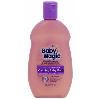 Magic Sliders 8016 Baby Magic Lavender And Chamomile Calming Baby Bath by Baby Magic
