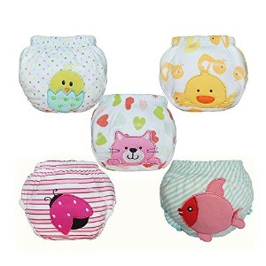 Babyfriend Baby Girls' Reusable Toilet Training Pants Nappy Underwear Cloth Diaper TP5-003 by...