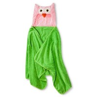 Soft Plush Hooded Towel by Circo (24x52) Machine Washable. (Owl) by Circo