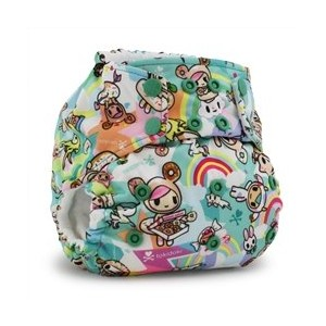 Kanga Care Rumparooz Cloth Pocket Diaper Snap, Tokisweet/Multi, One Size by Kanga Care