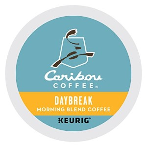 Caribou Coffee Daybreak Morning Blend, K-Cups for Keurig Brewers, 24-Count by Caribou Coffee
