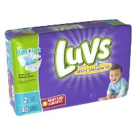 Luvs Ultra Leakguards Diapers - Size 2 - 40 ct (Discontinued by Manufacturer) by Luvs