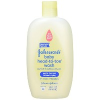Johnson's Head-to-Toe Baby Wash, 15-Ounce Package by Johnson's