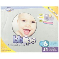 Chicolastic Bbtips Infant Disposable Ultra Diapers, XX-Large, Size 6, 54 Count by Chicolastic Bbtips