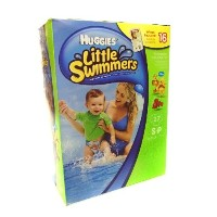Huggies Little Swimmers Disposable Swimpants 27 SP 16 - 26 lbs. Bonus 16 Wipes Included! by...