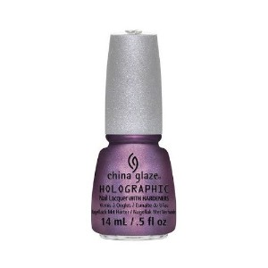 CHINA GLAZE 12 Holographic Nail Lacquers with Hardeners - Get Outta My Space (並行輸入品)