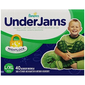 Pampers UnderJams Underwear - Boys - Large/X-Large - 40 ct by Pampers