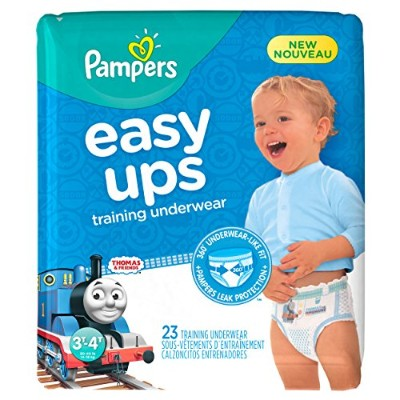 Pampers Easy Ups Training Boys Underwear, Size 5, 23 Count by Pampers