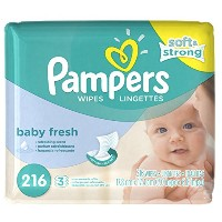 Pampers Baby Fresh Scented Baby Wipes Refill - 216ct by Pampers