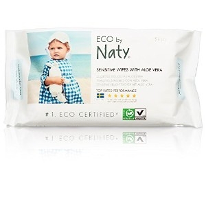 Nature Babycare Eco-sensitive Wipes with Aloe, Fragrance-Free, 56 Count by Nature Babycare