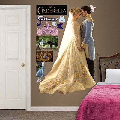 Fathead Cinderella and Prince Charming Real Decals by FATHEAD