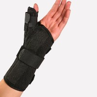 Therapist's Choice Wrist Brace with Spica Thumb Support, Universal Size (Left) by Therapist's Choice