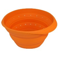 Better Houseware Collapsible Colander、オレンジ