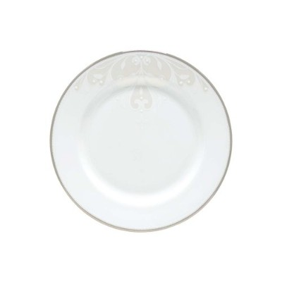 Lenox Opal Innocence Scroll Butter Plate