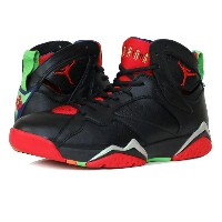 NIKE AIR JORDAN 7 RETRO ナイキ エア ジョーダン 7 レトロ BLACK/UNIVERSITY RED/GREEN/GREY