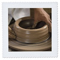 Danita Delimont – 陶器 – ニカラグア、Catarina。Pottery Wheel and Clay – sa14 jme0128 – ジョンとLisa Merrill –...