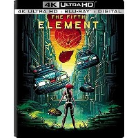 THE FIFTH ELEMENT 4K/Blu-ray/Digital HD Steelbook (Limited Edition 4K Steelbook) - from USA.