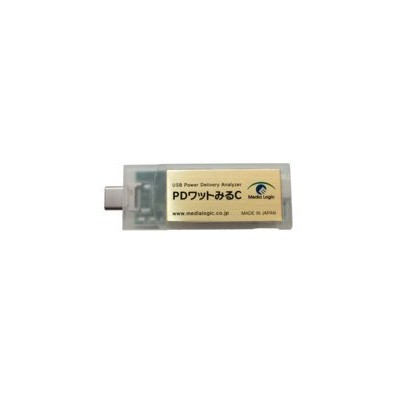 USB Power Delivery アナライザ DTW2U3 (PDワットみるC)
