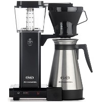 Moccamaster KBT 10-Cup Coffee Brewer with Thermal Carafe, Black by Technivorm Moccamaster