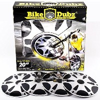 BikeDubz Mayhem Bicycle Wheel Spoke Covers Accessory For 20 Inch Bikes (Fits: We The People | Fit |...