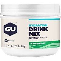 GU Hydration Drink Mix, Watermelon, 16.1 Ounce Canister by GU Energy Labs