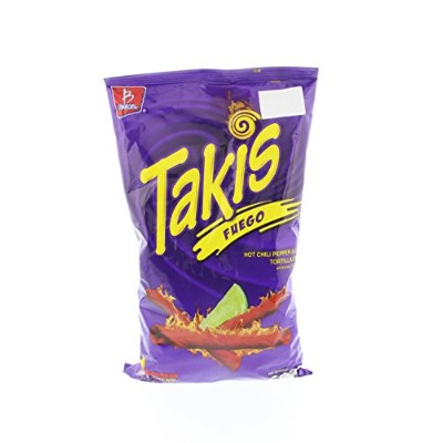 Takis Tortilla Chips Hot Chili Pepper and Lime 9.9 Oz [並行輸入品]