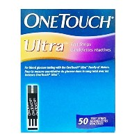 One Touch Ultra 50 test strips from Lifescan by One Touch Ultra