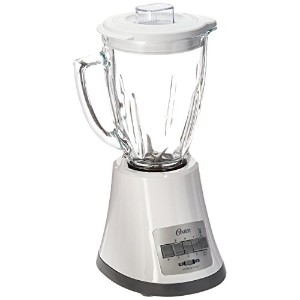 Oster blstmgホワイト8速度6-cupガラスJar Blender、220ボルトNot for USA )