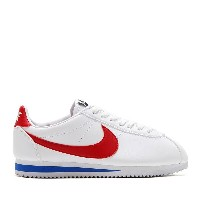 NIKE WMNS CLASSIC CORTEZ LEATHER (WHITE/VARSITY RED-VARSITY ROYAL) (ナイキ ウィメンズ クラシック コルテッツ レザー) ...