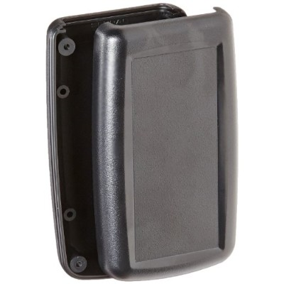 Serpac H45 ABS Plastic Enclosure, 3.90 Length x 2-13/64 Width x 0.94 Height, Black by Serpac