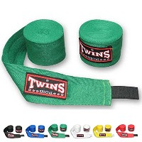 Twins Specialタイ式ボクシングHandwraps