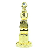 10-Inch Bejeweled Five Element Pagoda
