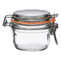6 Le ParfaitスーパーTerrines – Wide Mouth FrenchガラスPreserving Jars – 保存、保存、Serve、飾り(6、125 ml – 4oz –...