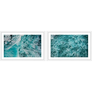 Marmont Hill mh-amsets-ab-101-wfp-120Splashing Diptychアートワーク 60x20 MH-AMSETS-AB-101-WFP-60
