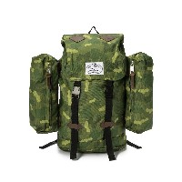 【60%OFF】RETRO RUCK バックパック グリーンカモ 旅行用品 > その他