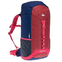Quechua(ケシュア) ARPENAZ 40 バックパック BLUE/RED/PINK 40L 8332417-649873