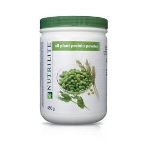 Nutrilite All Plant Protein Powder Provides a Natural By Amway Net Wt. 450 G. Pack of 1 by amway